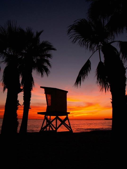 Capo Beach Lifeguard Tower - ID: 5416184 © Daryl R. Lucarelli