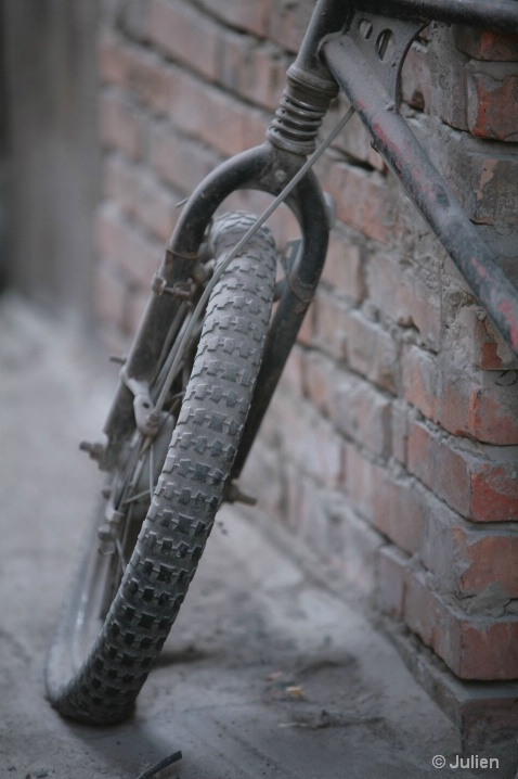 Lost bike within the hutongs