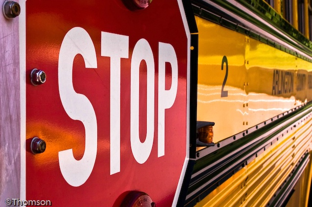 Arlington:  School Bus