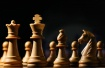 White chess piece...