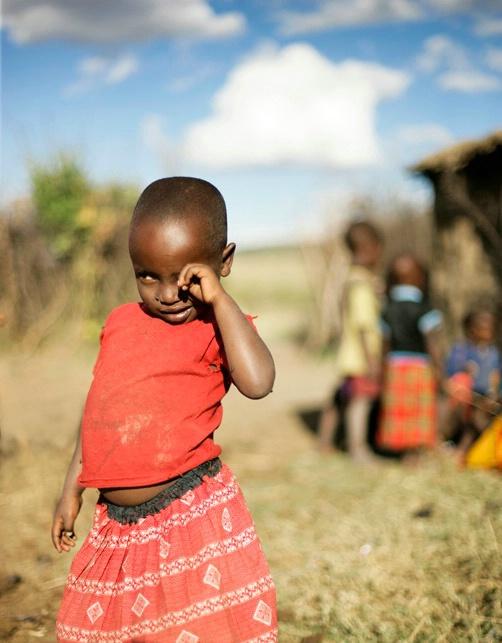 Shy Massai