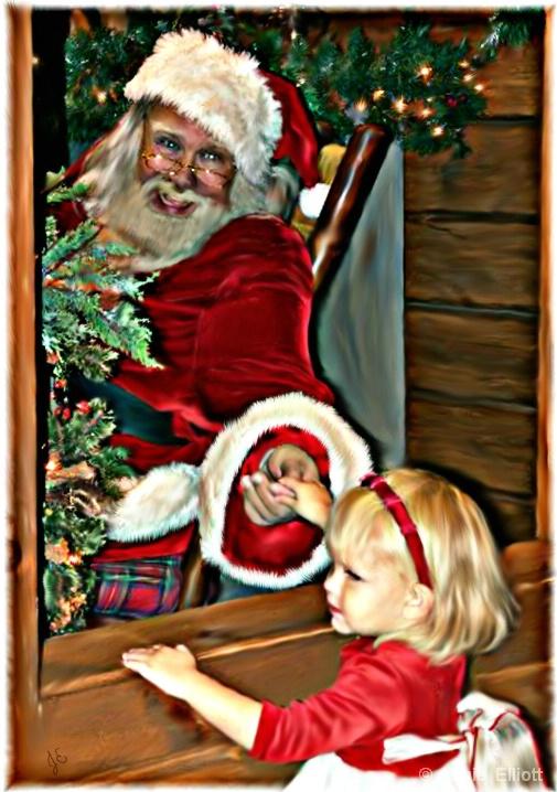 Through Santa's Window
