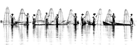 Inle's Fishermen