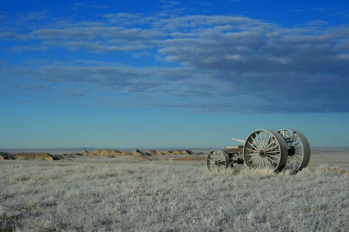 Winter on the Plains of North Dakota