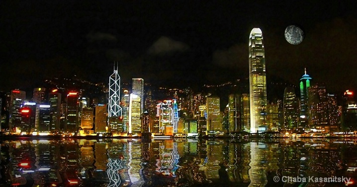 Hon Kong night