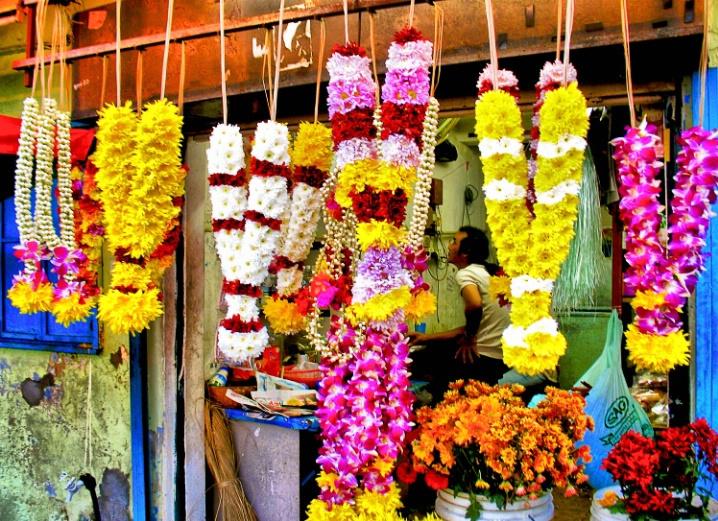 Colorful, Roadside Flower Shop
