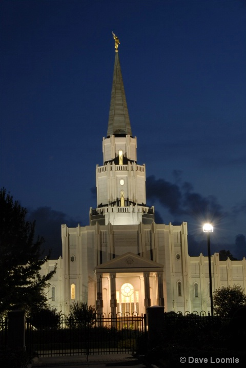 Morman Temple at Houston, TX - ID: 5601872 © Dave Loomis