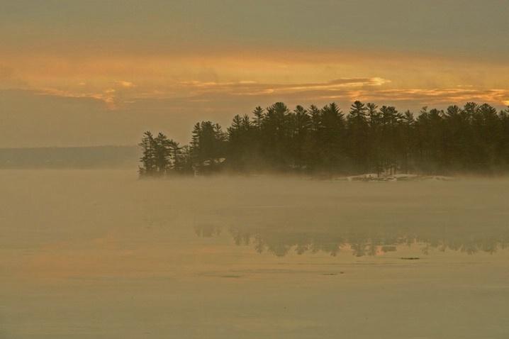 A Misty Winter Morn