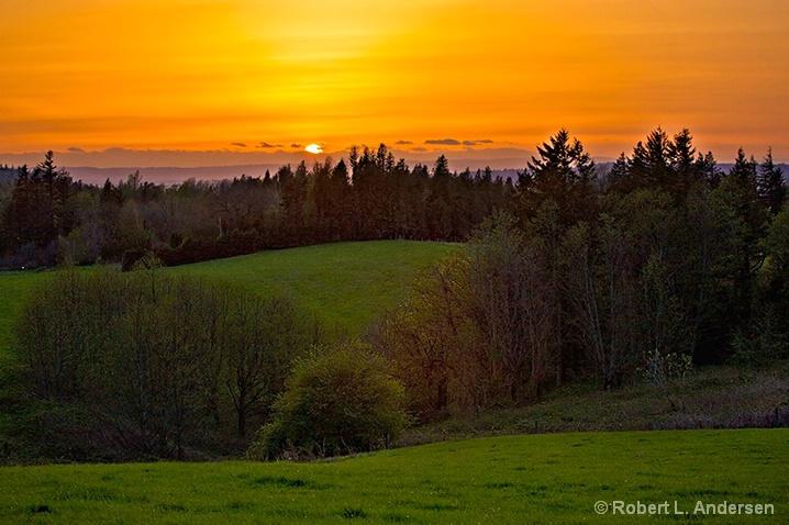 Corbett View Sunset
