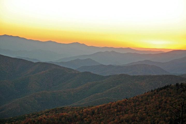 Sunset, Great Smoky mountains, TN/NC - ID: 5650829 © Muriel Soler