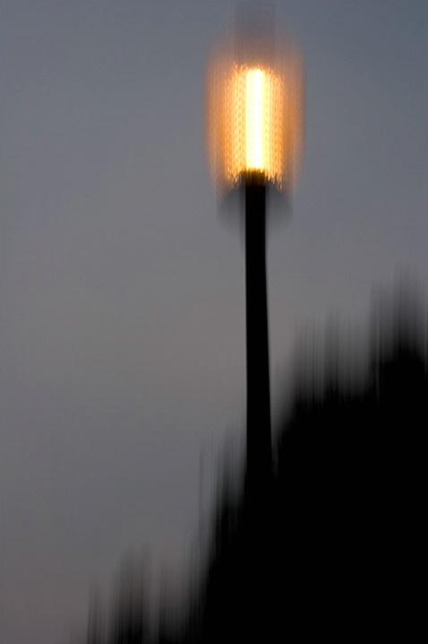 Lamp Impression - St. Simons Island 8-8-07 - ID: 5659652 © Robert A. Burns
