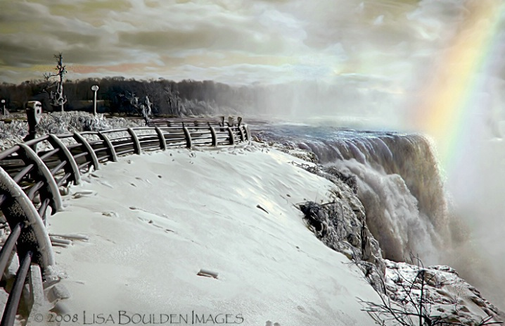 Niagara's  Majesty in Winter