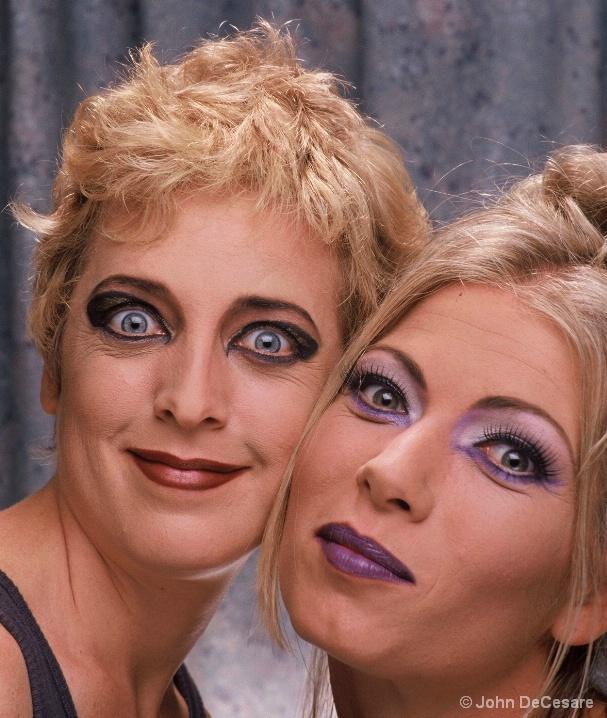 KELLY & CYNTHIA, LA, 1995   - ID: 5699962 © John DeCesare