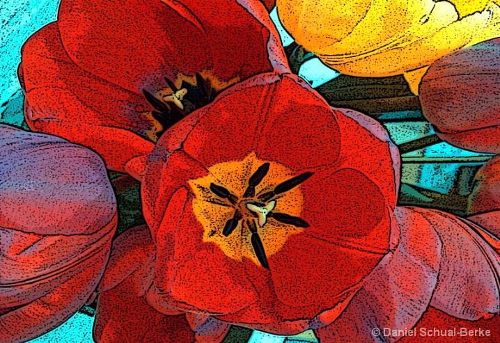 Tulips - ID: 5722022 © Daniel Schual-Berke