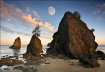Moon Over Sunrise...