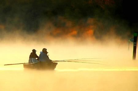 Early Morning Fishermen II