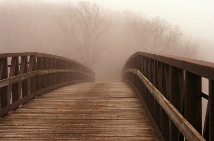 Foggy Foot Bridge