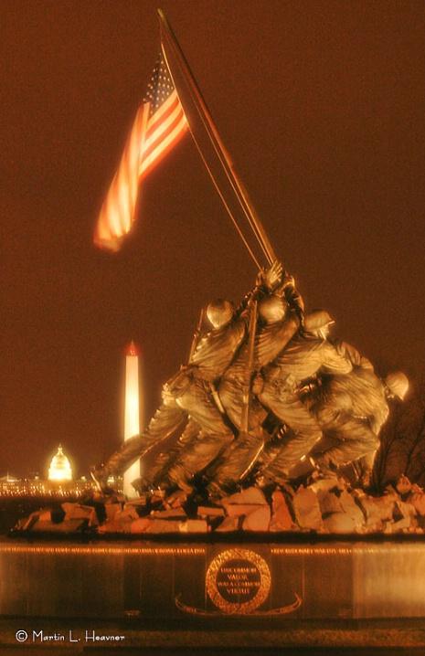 Icons of Freedom, Washington, DC - ID: 5852532 © Martin L. Heavner