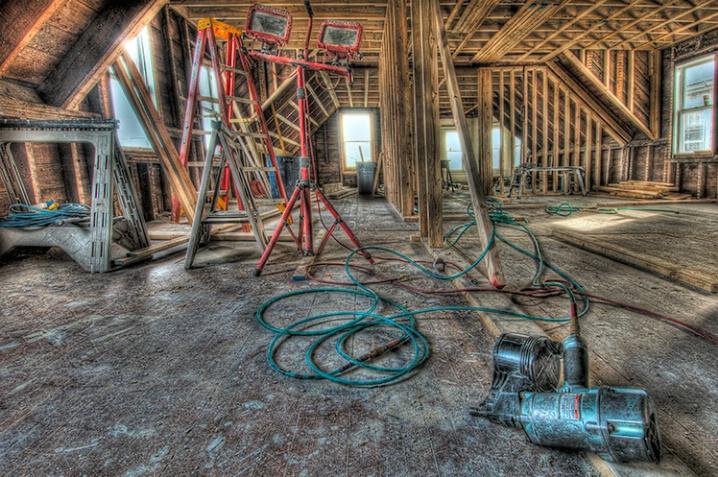 HDR Photo of renovation - ID: 5887047 © Gurli Lovinger