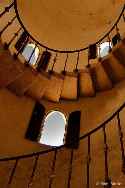 Scotty's Castle-Stairway_1457 - ID: 5908585 © Marilynn Mann