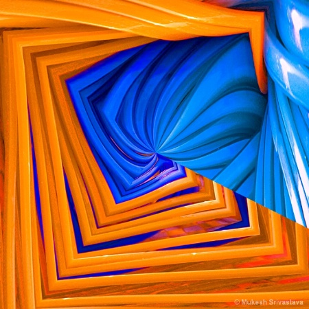Romance of Blue and Orange