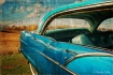 Vintage Blue Ride
