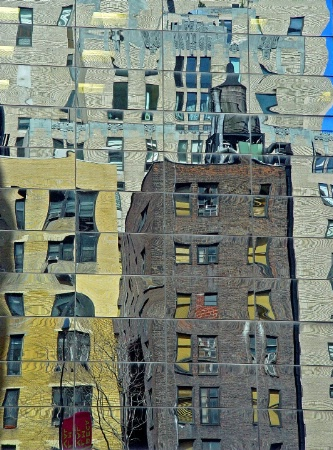 New  York City Reflections_#112