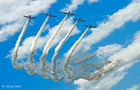 The Geico Skytypers