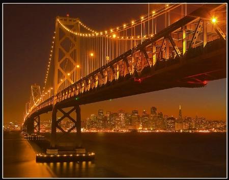 A Rare Perspective Of San Francisco !