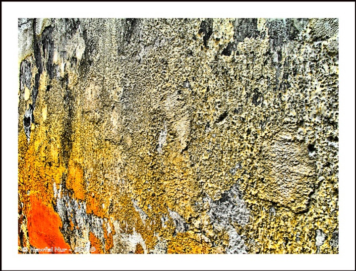 Colored Wall Abstraction, v.1