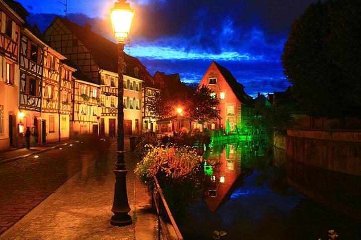 Night along the Canal - ID: 6042792 © STEVEN B. GRUEBER
