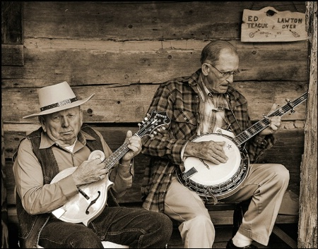Front Porch Pickers-Sepia