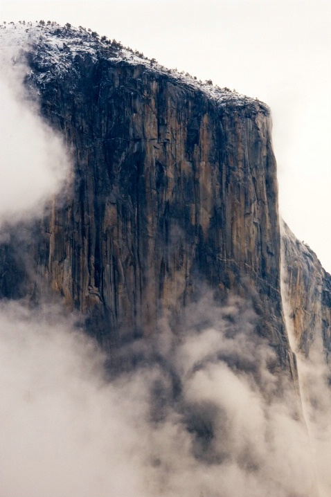 Spring Storm Over El Capitan