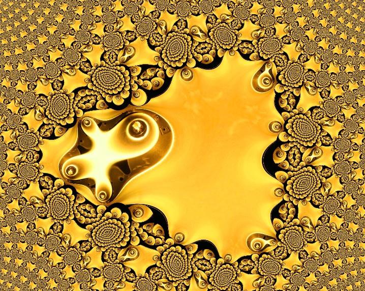 Golden Flowers Of Light