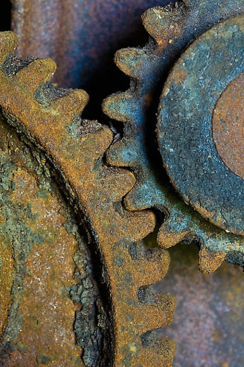 Rusty Gears - ID: 6117420 © Rebecca A. Cummings