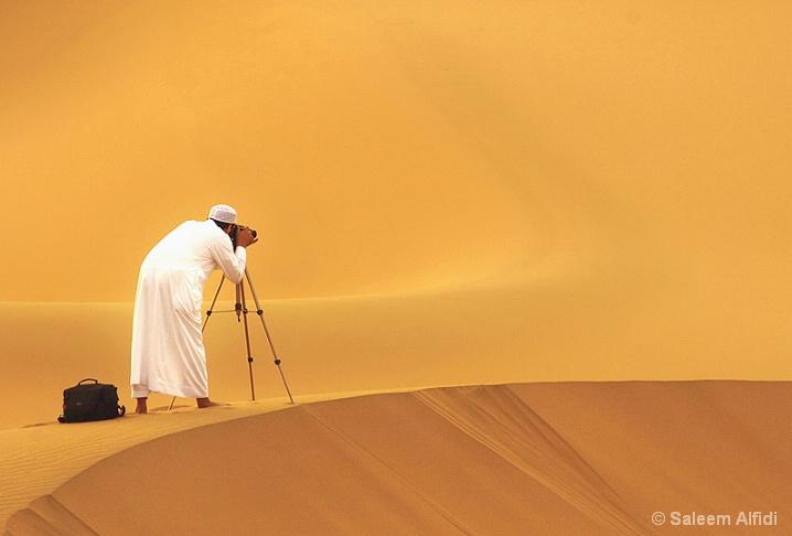 Arab photographer