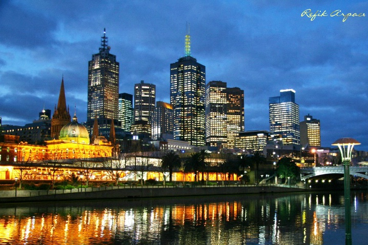 THE FORTRESS OF YARRA, MELBOURNE/AUSTRALIA