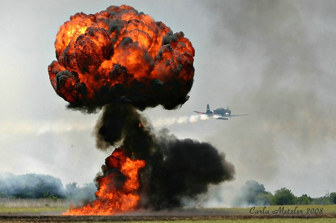 Air Show Reenactment