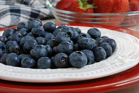 ~ red, white, and blueberries ~