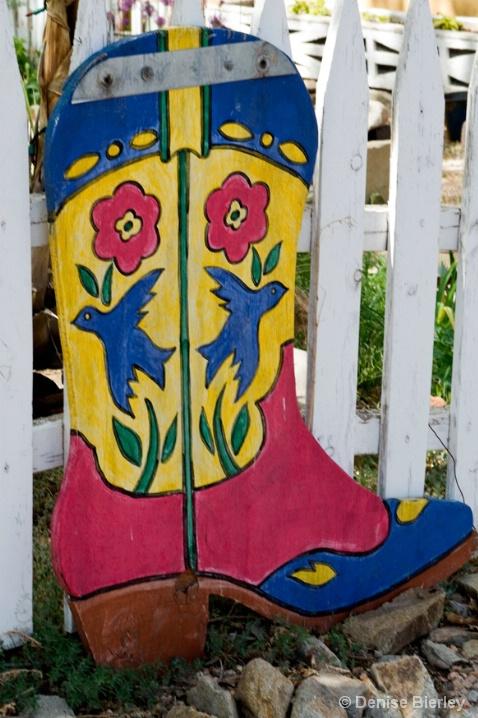 Cowboy Boot - ID: 6304900 © Denise Bierley