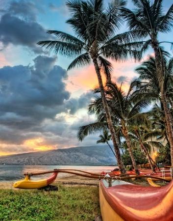 Canoe Club sunset (again)