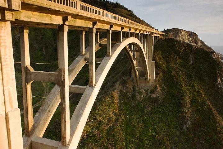 Rocky Creek Bridge, Big Sur