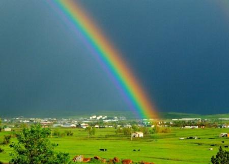 At Rainbows End.