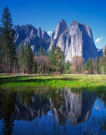 Cathedral Rocks - Yosemite