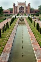 India (Side gate to the Taj)