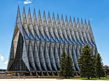 Air Force Academy Chapel 2