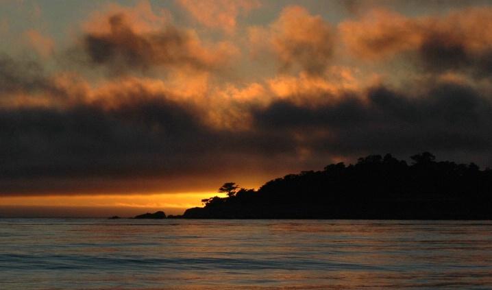 Carmel Beach Sunset3