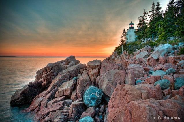 Bell Lighthouse - Acadia National Park