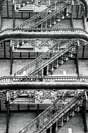 Ornate Fire Escape