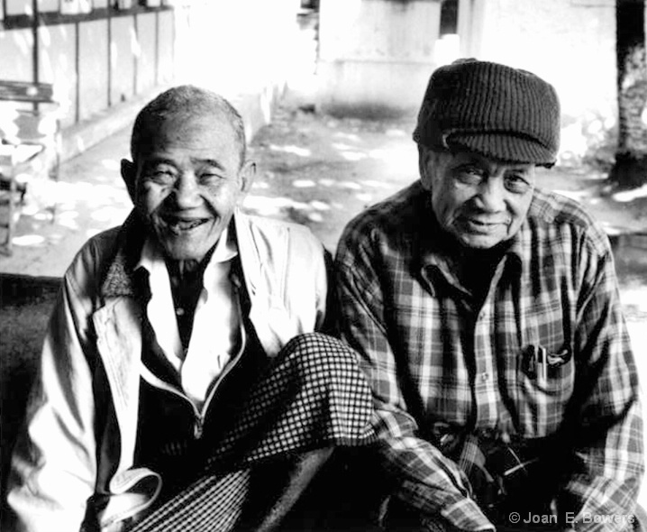 Residents, Old Age Home, Mingun - ID: 6595425 © Joan E. Bowers